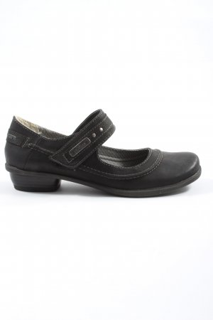 s.Oliver Zapatos Mary Jane negro look casual