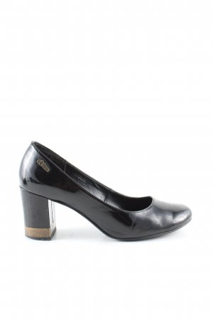 s.Oliver Mary Jane Pumps schwarz Elegant