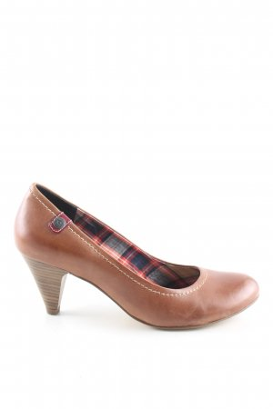 s.Oliver Mary Jane Pumps bronze-colored casual look