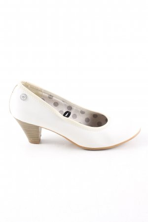 s.Oliver Mary Jane Pumps weiß Elegant