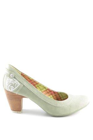 s.Oliver Tacones Mary Jane verde elegante