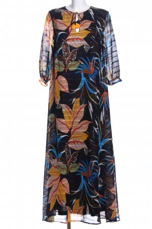 s.Oliver Maxikleid Blumenmuster Casual-Look