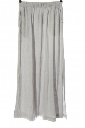 s.Oliver Maxi Skirt light grey casual look