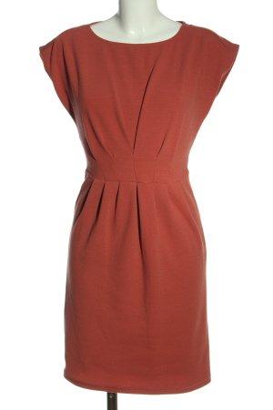 s.Oliver Sukienka ze stretchu jasny pomarańczowy W stylu casual