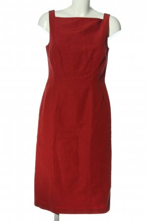s.Oliver Midikleid rot Casual-Look