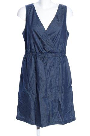 s.Oliver Midikleid blau Casual-Look