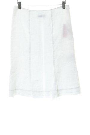s.Oliver Spódnica midi w kolorze białej wełny Elegancki