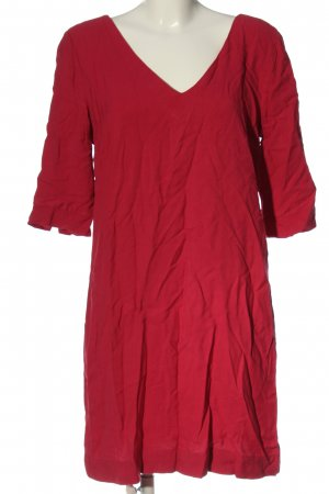 s.Oliver Mini vestido rojo look casual