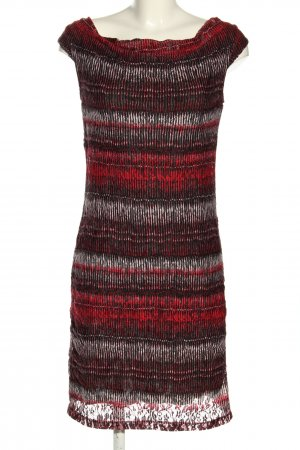 s.Oliver Minikleid rot Allover-Druck Casual-Look