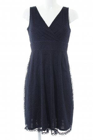 s.Oliver Minikleid blau grafisches Muster Elegant