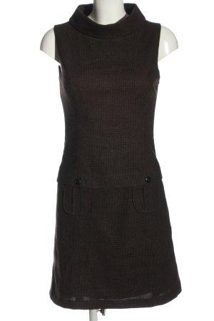 s.Oliver Minikleid braun-schwarz Casual-Look