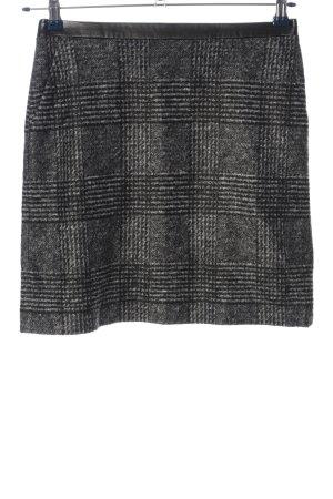 s.Oliver Minigonna grigio chiaro-nero motivo a quadri stile casual