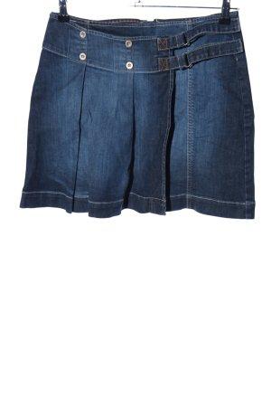 s.Oliver Minirock blau Casual-Look