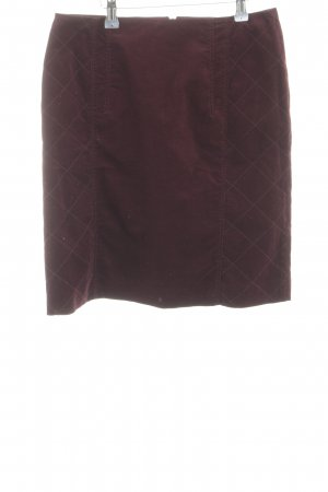 s.Oliver Minirock rot Steppmuster Casual-Look