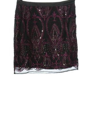 s.Oliver Minirock schwarz-pink Elegant