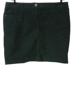 s.Oliver Minirock grün Casual-Look