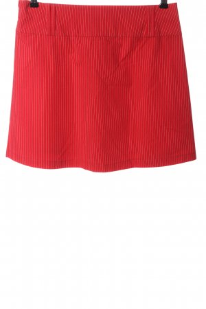 s.Oliver Minirock rot-weiß Allover-Druck Casual-Look