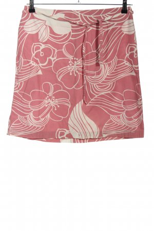 s.Oliver Minirock pink-creme Blumenmuster Casual-Look