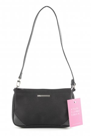 s.Oliver Minibolso negro look casual