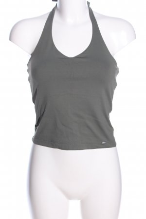 s.Oliver Halter Top light grey casual look