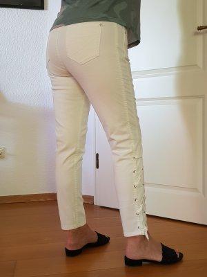 s.Oliver Jeansy z prostymi nogawkami biały
