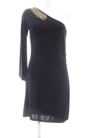 s.Oliver One Shoulder Dress black elegant