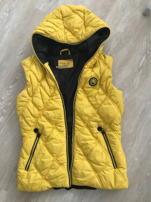 s.Oliver Quilted Gilet yellow