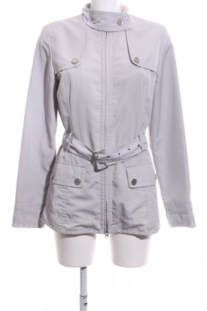 s.Oliver Outdoorjacke hellgrau Casual-Look