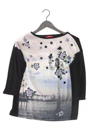 s.Oliver Oversize-Shirt Größe 36 3/4 Ärmel schwarz aus Polyester