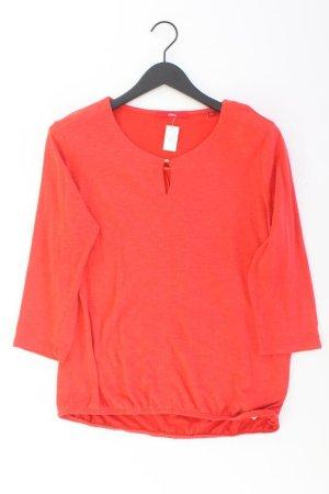s.Oliver Oversize-Shirt Größe 40 orange aus Baumwolle