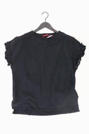 s.Oliver Oversize-Shirt Größe 40 schwarz aus Baumwolle