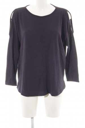 s.Oliver Oversized Pullover schwarz Casual-Look