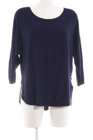 s.Oliver Oversized Shirt blau Business-Look