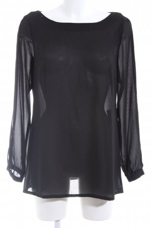 s.Oliver Oversized Shirt schwarz Casual-Look