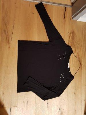 S.Oliver Premium Camisa holgada negro