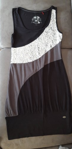 QS by s.Oliver Sequin Dress black