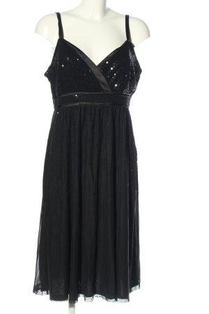 s.Oliver Sequin Dress black elegant
