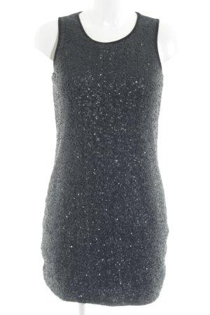 s.Oliver Robe à paillettes noir style festif