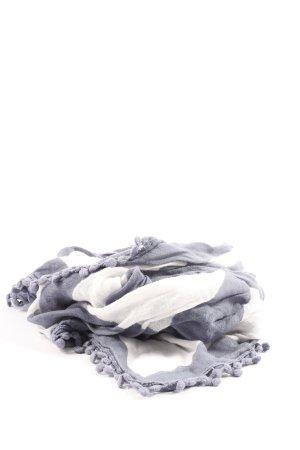 s.Oliver Arafat sjaal lichtgrijs-wit casual uitstraling