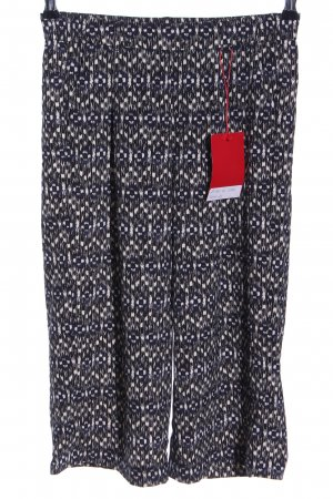 s.Oliver Pallazzohose abstraktes Muster Casual-Look