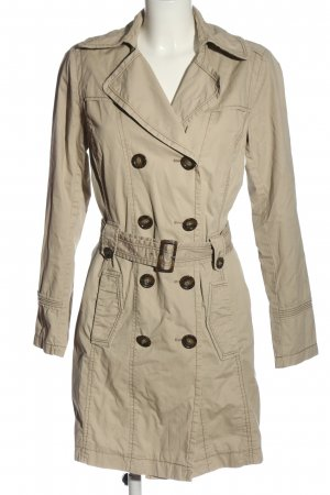 s.Oliver Pea Coat natural white business style