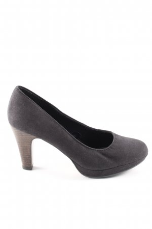 s.Oliver Plateau-Pumps braun Business-Look