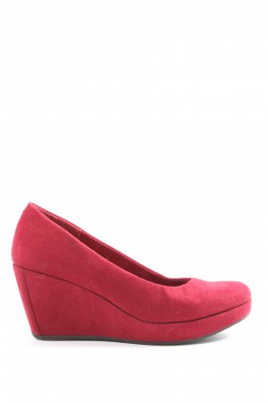 s.Oliver Plateau-Pumps pink Casual-Look