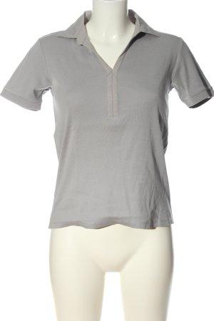 s.Oliver Polo-Shirt hellgrau Casual-Look