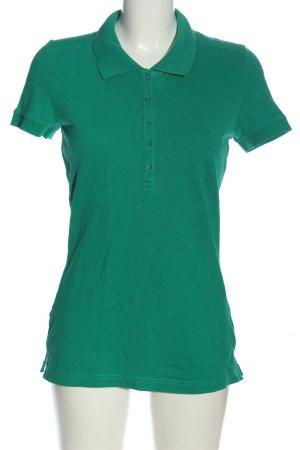 s.Oliver Polo-Shirt grün Casual-Look
