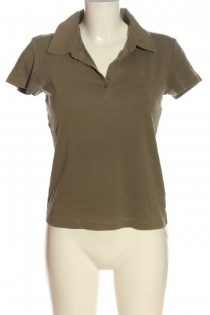 s.Oliver Polo-Shirt braun Casual-Look