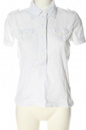 s.Oliver Polo-Shirt weiß Casual-Look