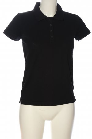 s.Oliver Polo-Shirt schwarz Casual-Look
