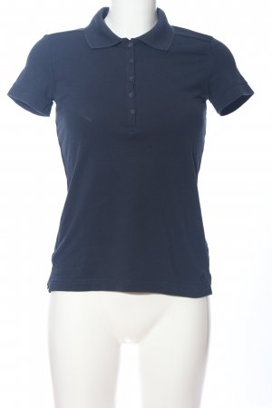 s.Oliver Polo shirt blauw casual uitstraling