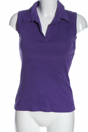 s.Oliver Polo Top blau Casual-Look